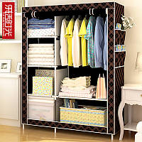 Мобильный тканевой шкаф для одежды HCX Storage Wardrobe