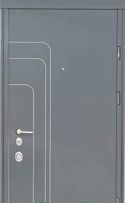 Двери Трэк (Al) Стандарт + «СТРАЖ» (Украина)