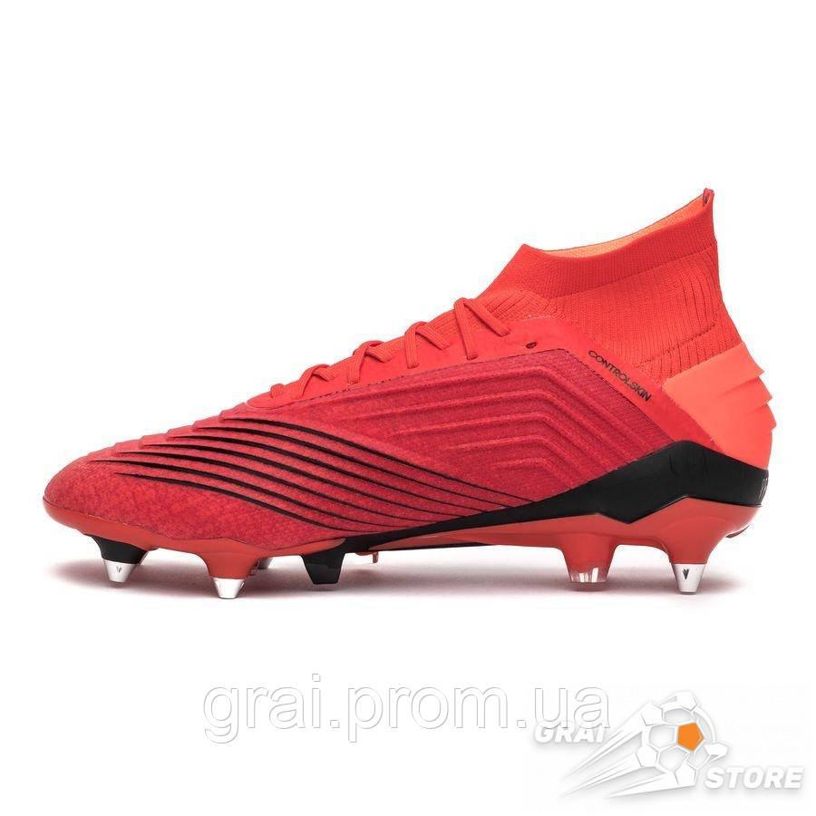 675a78f8 Бутсы adidas Predator 19.1 SG Red/Black, цена 4 990 грн., купить в Киеве —  Prom.ua (ID#875510729)