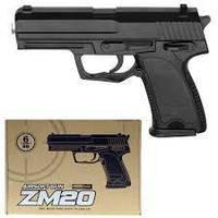 Детский пневматический пистолет ZM 20
