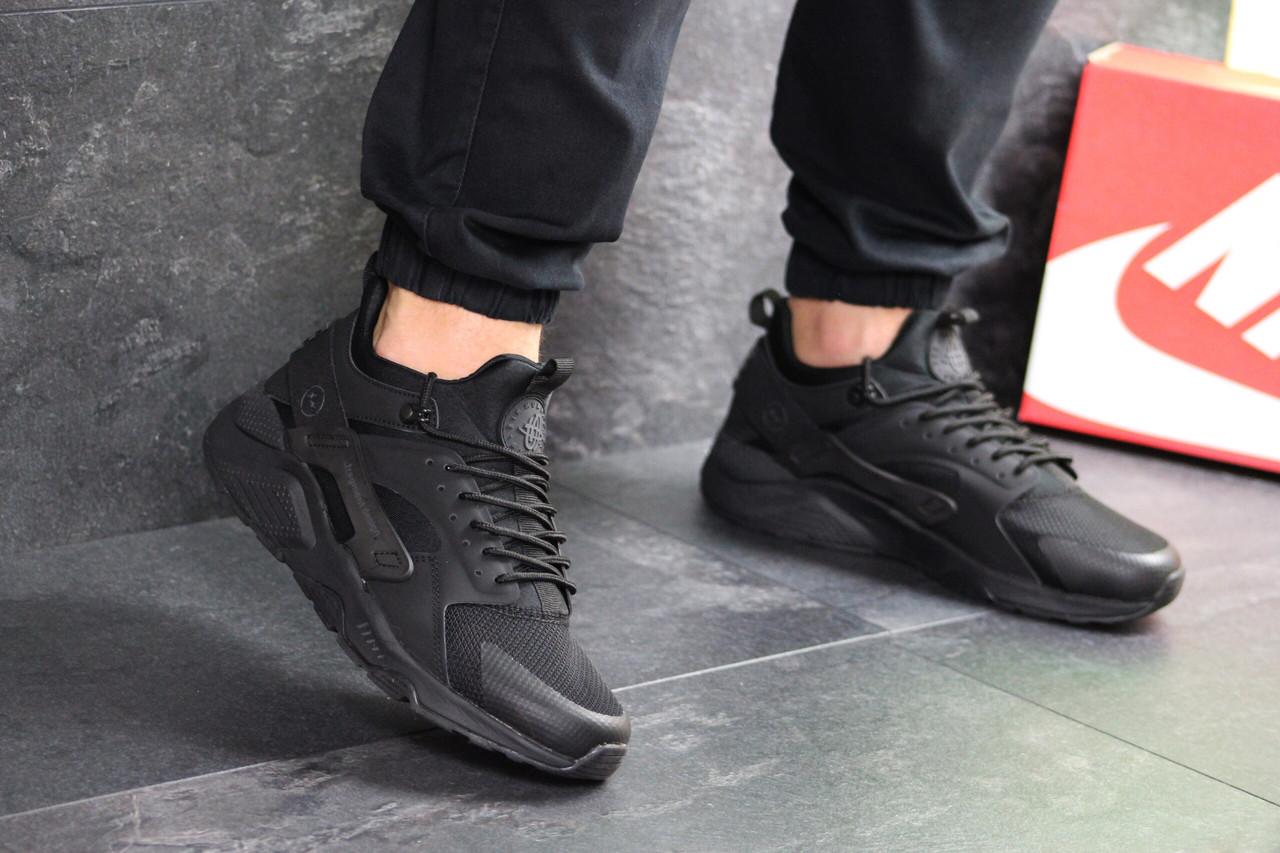 565fae6e Мужские демисезонные кроссовки Nike 7426 Черные купить не дорого ...
