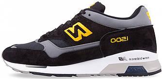 """Мужские кроссовки New Balance 1500 """"Black/Yellow"""" ( в стиле Нью Баланс )"""