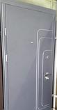 Двери Трэк антрацит/белое дерево «СТРАЖ» (Украина), фото 2
