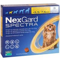 Нексгард Спектра (таблетки для собак) 3.5-7.5 кг, фото 1
