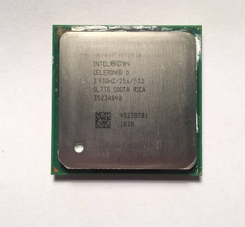 Процессор Intel Celeron D 340 2.93GHz/256/533 (SL7TS) s775, tray