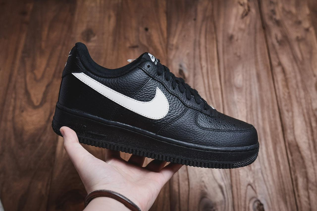 a6156aff Кроссовки мужские Найк Аир Форс Nike Air Force Low 1 07 LV8 Black Черные ( Арт