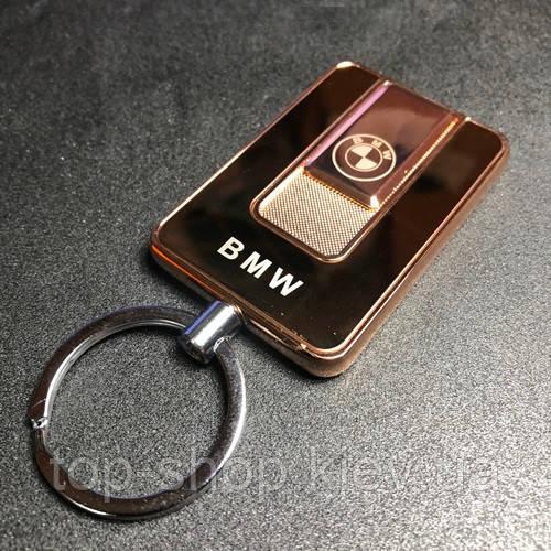 Спиральная электрическая USB зажигалка BMW Золотой