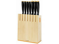Набор кухонных ножей FISKARS Functional Form в деревянном блоке (1018781/) (1014225)