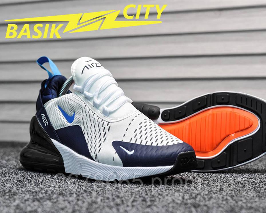 Мужские кроссовки Nike Air Max 270 Dirty Cactus Blue 45 размер - 29см