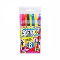 Набор ароматных восковых карандашей для рисования - РАДУГА (8 цветов) Scentos 41102