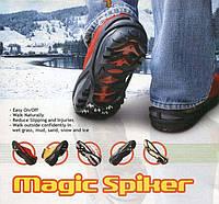 Эластичный волшебные ботинки спайка Антипробуксовочная льда