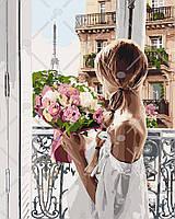 Картины по номерам / обложка. Из Парижа с любовью 40х50см арт. КНО4567