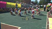 Резиновое покрытие для спортивных площадок 1000х1000 мм.20 мм., фото 1