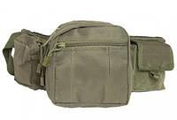 "Тактическая сумка-пояс Mil-tec ""FANNY PACK"" (Olive) (13514001), фото 1"