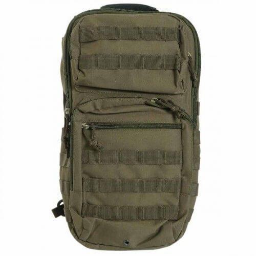 Тактический рюкзак Mil-Tec однолямочный One Strap Assault Pack LG Olive  (14059201)