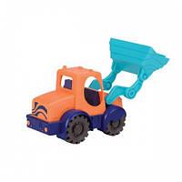 Игрушка для игры с песком - МИНИ-ЭКСКАВАТОР (цвет морской-мандариновый-океан) Battat Summery BX1440Z