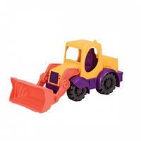 Игрушка для игры с песком - МИНИ-ЭКСКАВАТОР (цвет манго-сливово-томатный) Battat Summery BX1420Z