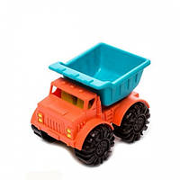 Игрушка для игры с песком - МИНИ-САМОСВАЛ (цвет папайя-морской) Battat Summery BX1439Z