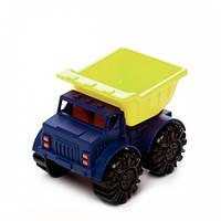 Игрушка для игры с песком - МИНИ-САМОСВАЛ (цвет лаймовый-океан) Battat Summery BX1418Z
