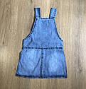Джинсовый сарафан 2-3-4-5 лет , фото 2