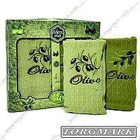 Кухонный набор вафельных  полотенец (Турция) 60х50 см 2 шт в наборе.
