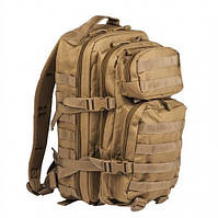Штурмовий (тактичний) рюкзак ASSAULT S Mil-Tec by Sturm Coyote 20 л. (14002005)
