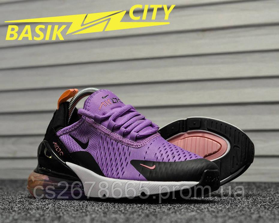 Женские кроссовки Nike Air Max 270 Lavander 38 размер - 24см
