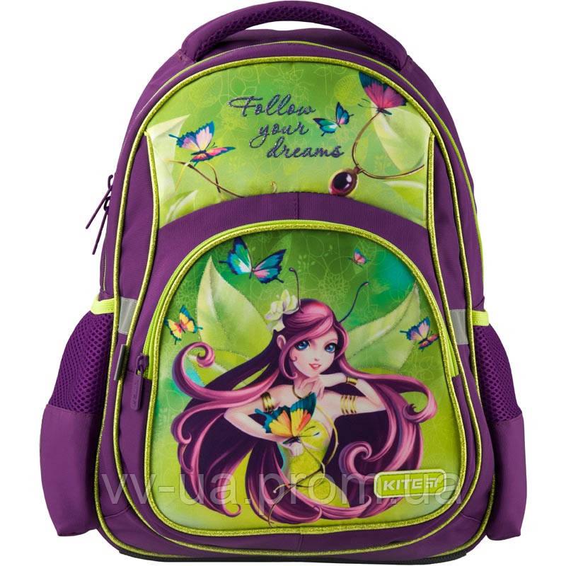 Рюкзак школьный ортопедический Kite Education Fairy, для девочек (K19-518S)