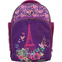 Рюкзак школьный ортопедический Kite Education Paris, для девочек, фиолетовый (K19-706M-1)