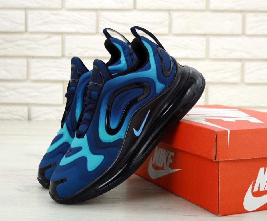 9db2c6bf Кроссовки мужские синие весенние модные Найк Air Max 720 Найк Аир Макс 720 новинка  2019