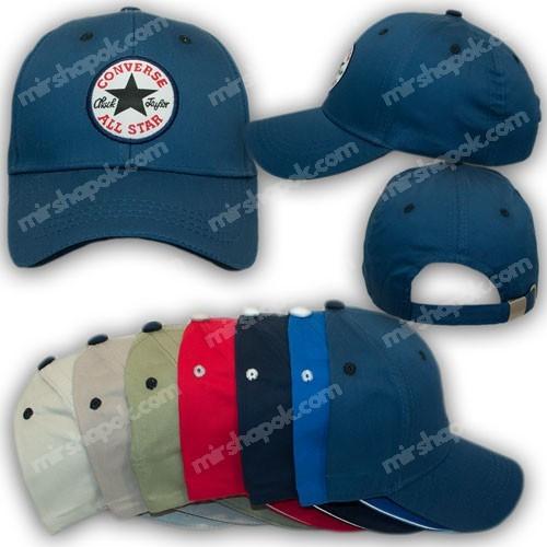 ОПТ Бейсболки детские с логотипом Converse All Star, р. 54 (5шт/упаковка)