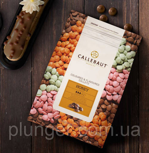 Натуральний шоколад зі смаком меду, 2.5 кг, Callebaut, Бельгія