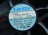 Вентилятор NMB 3110KL-04W-B57 90x90x25mm 12v для голів, підсилювачів, фото 3