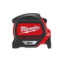 Рулетка с магнитом Milwaukee PREMIUM 5m-16ft