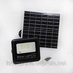 Прожектор  LED на солнечной панели 40W POWERLUX с пультом