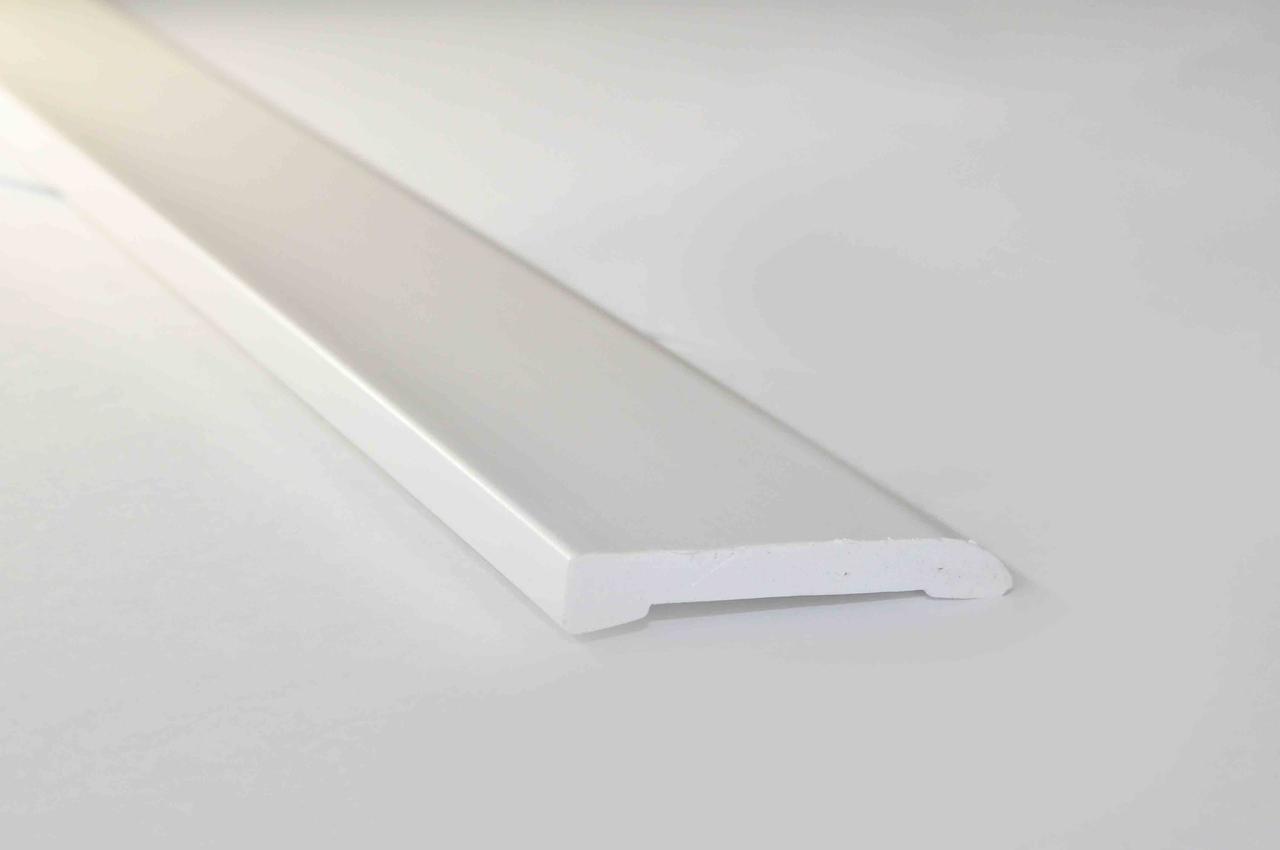 Наличник пластиковый Омис белый 60х2200 мм