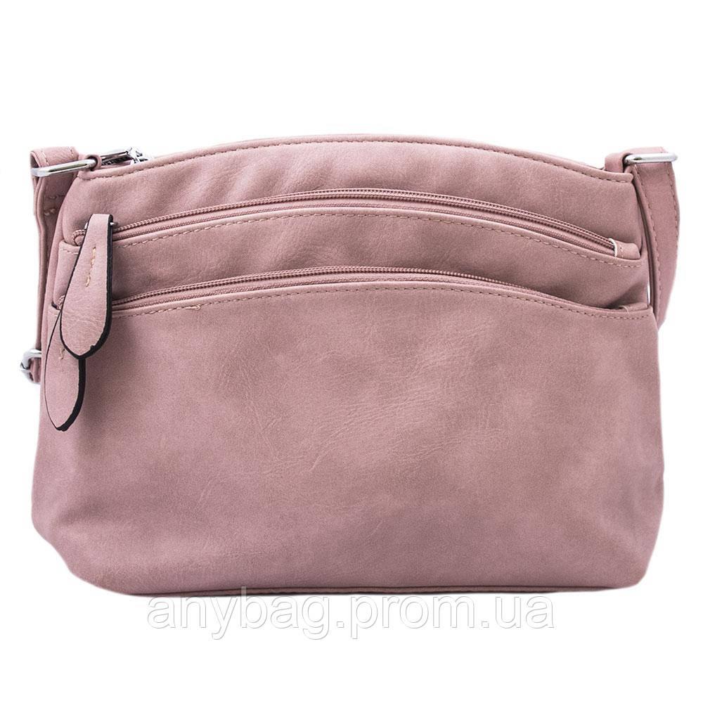ac423a1ddb08 Женская сумка кросс-боди через плечо из кожзаменителя NN B-NN14856 пудровая  - интернет