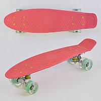 Детский скейтборд с подсветкой best board