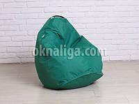 Кресло мешок груша детская   зеленый Oxford , фото 1