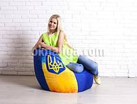 Кресло мешок груша большая |  укрпринт Oksford