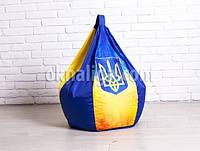Кресло мешок груша детская   укрпринт Oksford