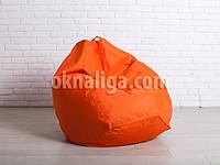 Кресло мешок груша большая |  оранжевый Oxford