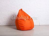 Крісло мішок груша | помаранчевий Oxford
