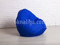 Кресло мешок груша | синий Oxford , фото 1