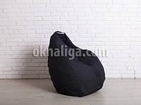 Кресло мешок груша | чёрный Oxford , фото 1