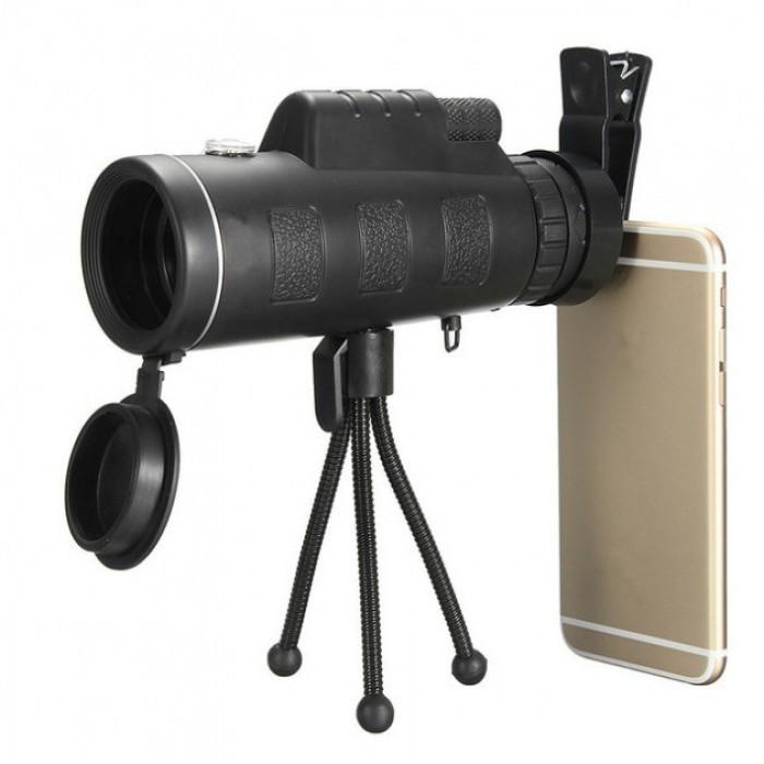 Монокуляр PANDA 40х60 з кріпленням для телефону і триногою Репліка