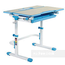Комплект растущая парта Lavoro L Blue + детское регулируемое кресло LST6 Blue FunDesk , фото 2