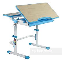 Комплект растущая парта Lavoro L Blue + детское регулируемое кресло LST6 Blue FunDesk , фото 3
