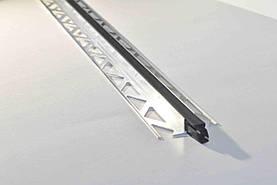 Алюминиевый дилатационный профиль Pawotex 10х2500 мм для деформационного шва ALD 10