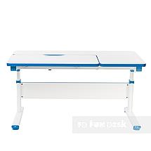 Комплект парта Creare Blue с надстройкой + детское ортопедическое кресло SST5 Blue FunDesk, фото 3